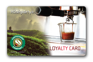 Coffeeshop Company Loyalty Card