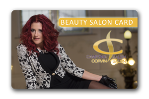 Pl�za Fodr�sz Beauty Salon Card